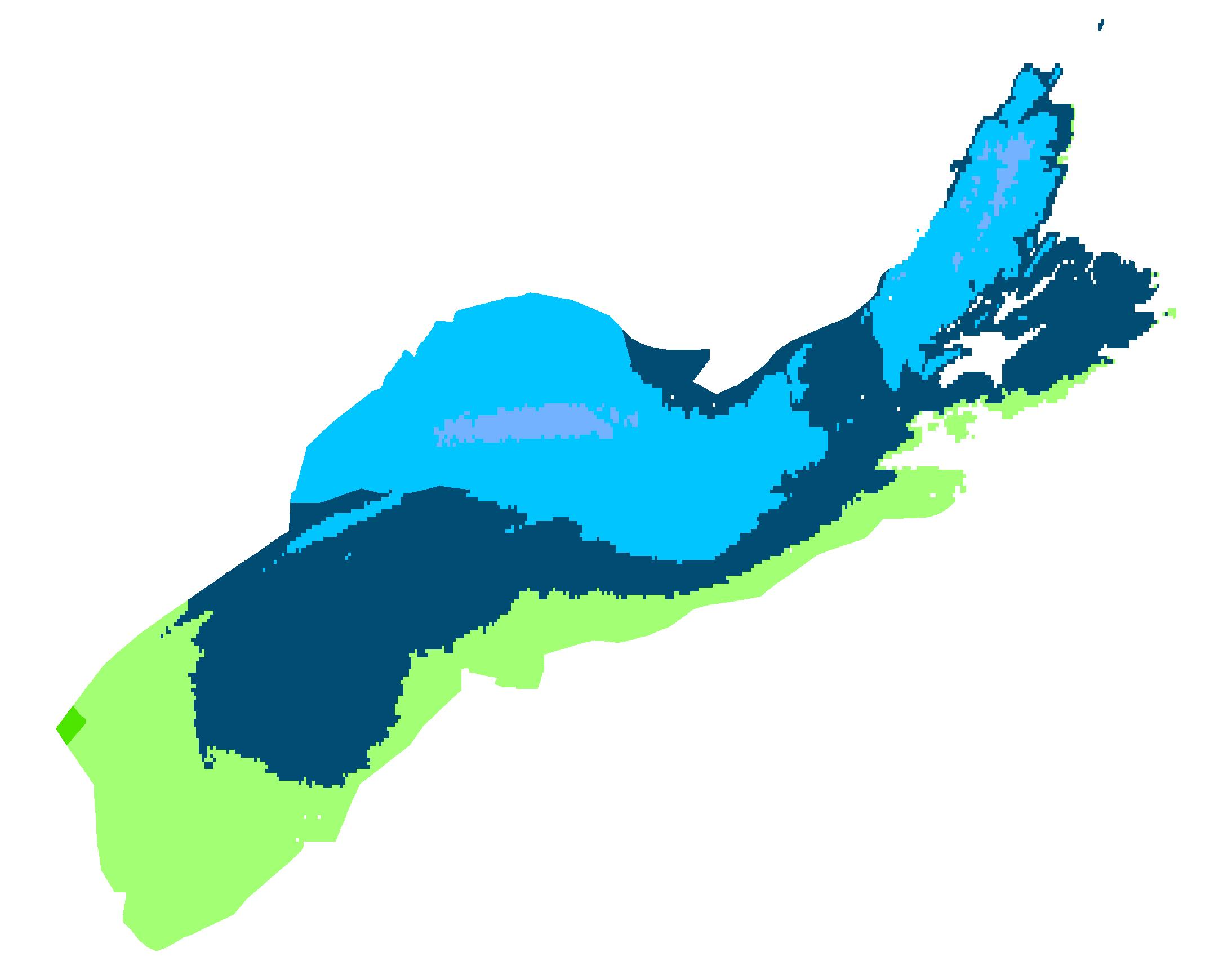 Map Of Canada Hardiness Zones.Nova Scotia Interactive Plant Hardiness Zone Map